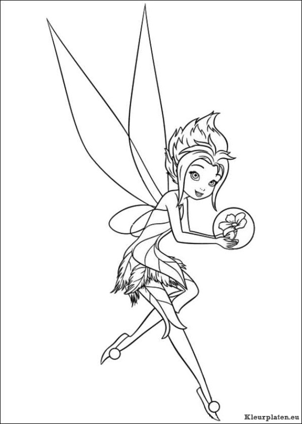 Alle Kleurplaten Van Tinkerbell.Tinkerbell Secret Of The Wings Kleurplaten Kleurplaten Eu