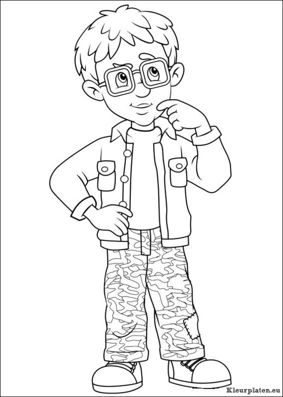 HD wallpapers fireman sam coloring pages