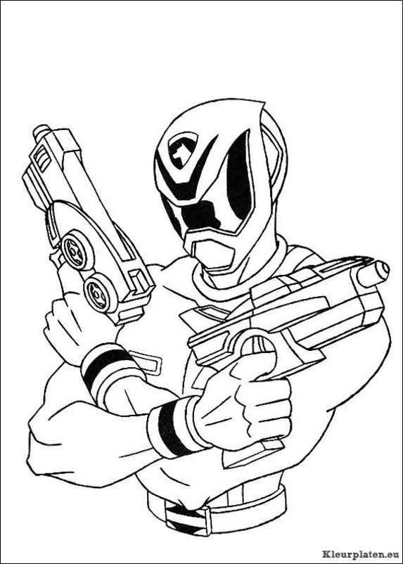 Power rangers kleurplaten for Power rangers coloring pages